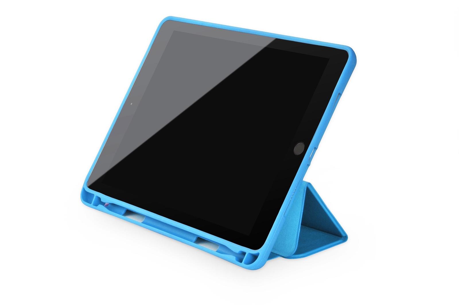 "Чехол для планшета Gurdini Leather Series (pen slot) 907374 для Apple iPad Pro 2017 10.5"", голубой"