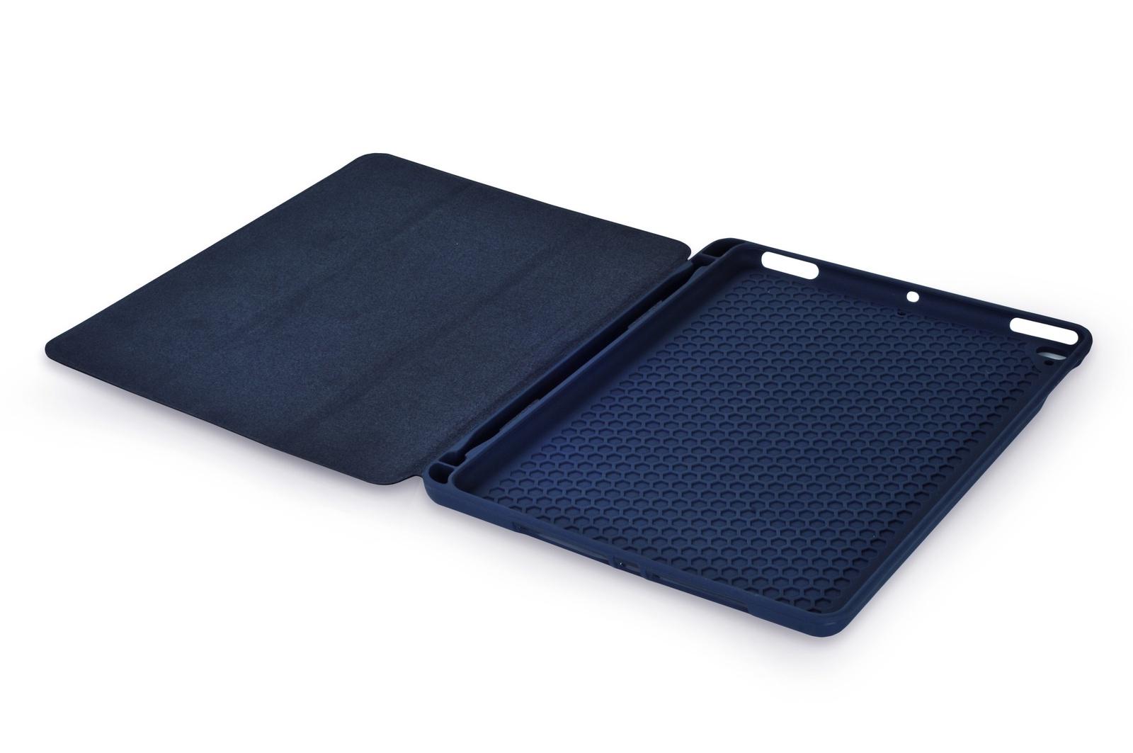 """Чехол для планшета Gurdini Leather Series (pen slot) 907380 для Apple iPad Pro 2017 10.5"""", темно-синий"""