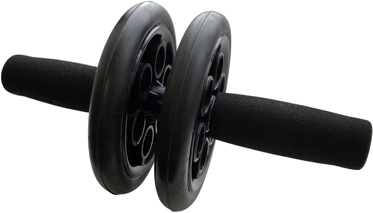 Ролик гимнастический Indigo SM-342, черный Indigo