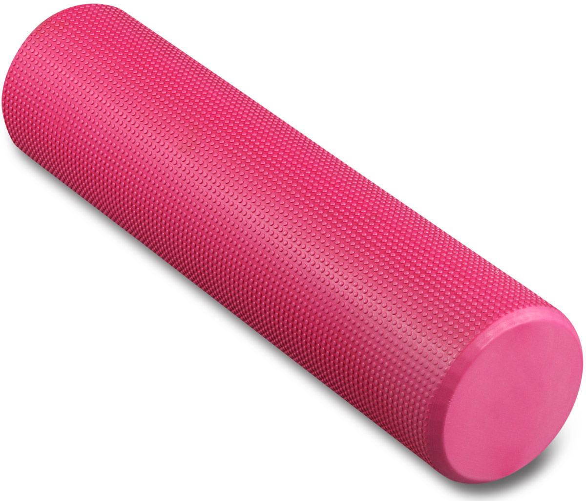 Ролик массажный для йоги Indigo, розовый, 15 х 60 см утяжелитель браслет для рук и ног indigo 2 шт х 0 1 кг