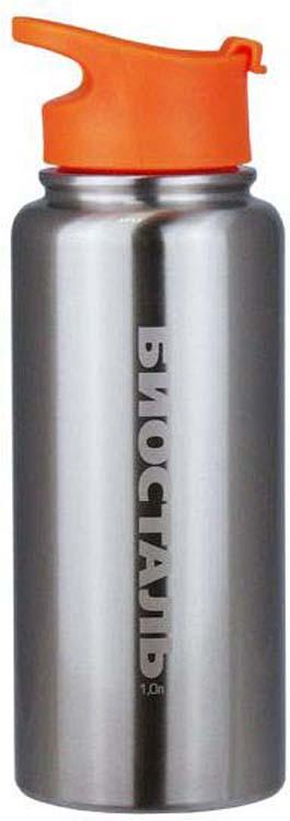Термос Biostal Охота, NHF-1000, серебристый, 1 л