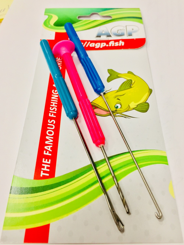 Аксессуар для рыбалки AGP Инструменты для бойлов, розовый, зеленый, синий