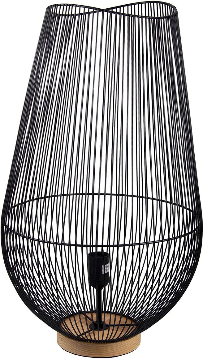 Настольный светильник Русские Подарки Геометрия, 87609, черный цена