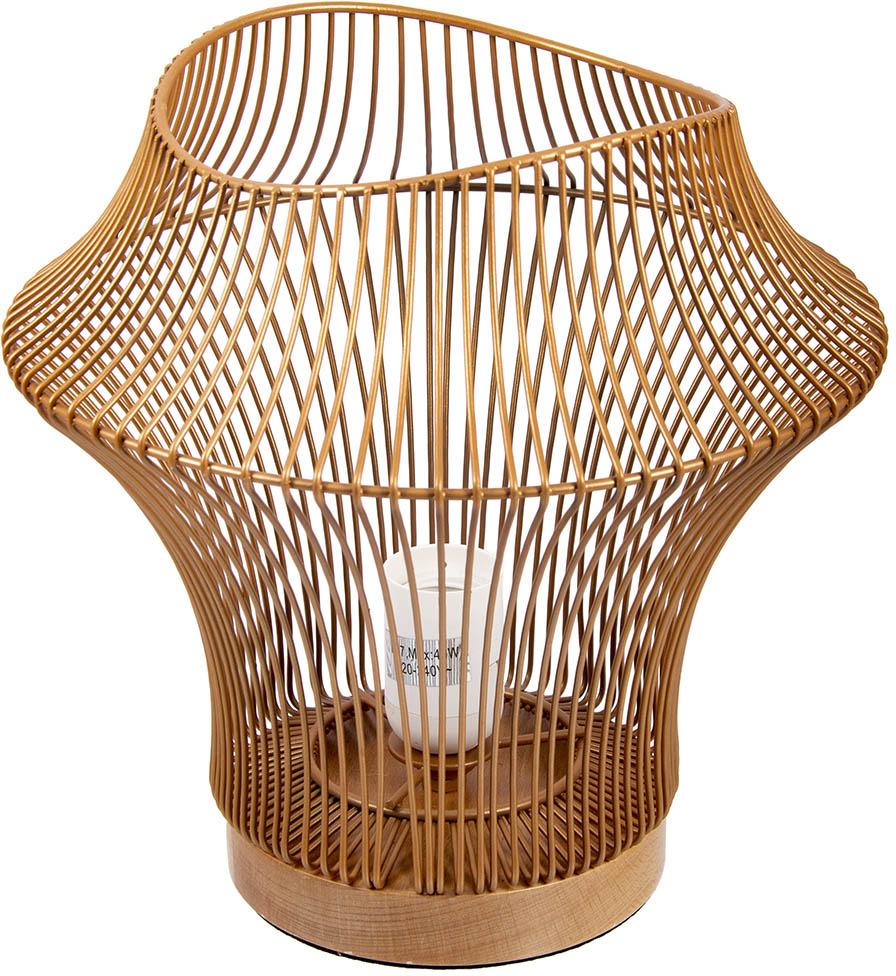 Настольный светильник Русские Подарки Геометрия, 87610, медь настольный светильник national nl 38led черный медь