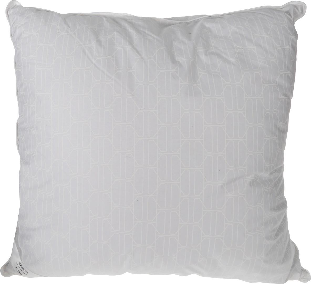 Подушка Togas Орион, наполнитель: пух, цвет: белый, 70 х 70 см подушка estia аоста наполнитель пух 70 х 70 см