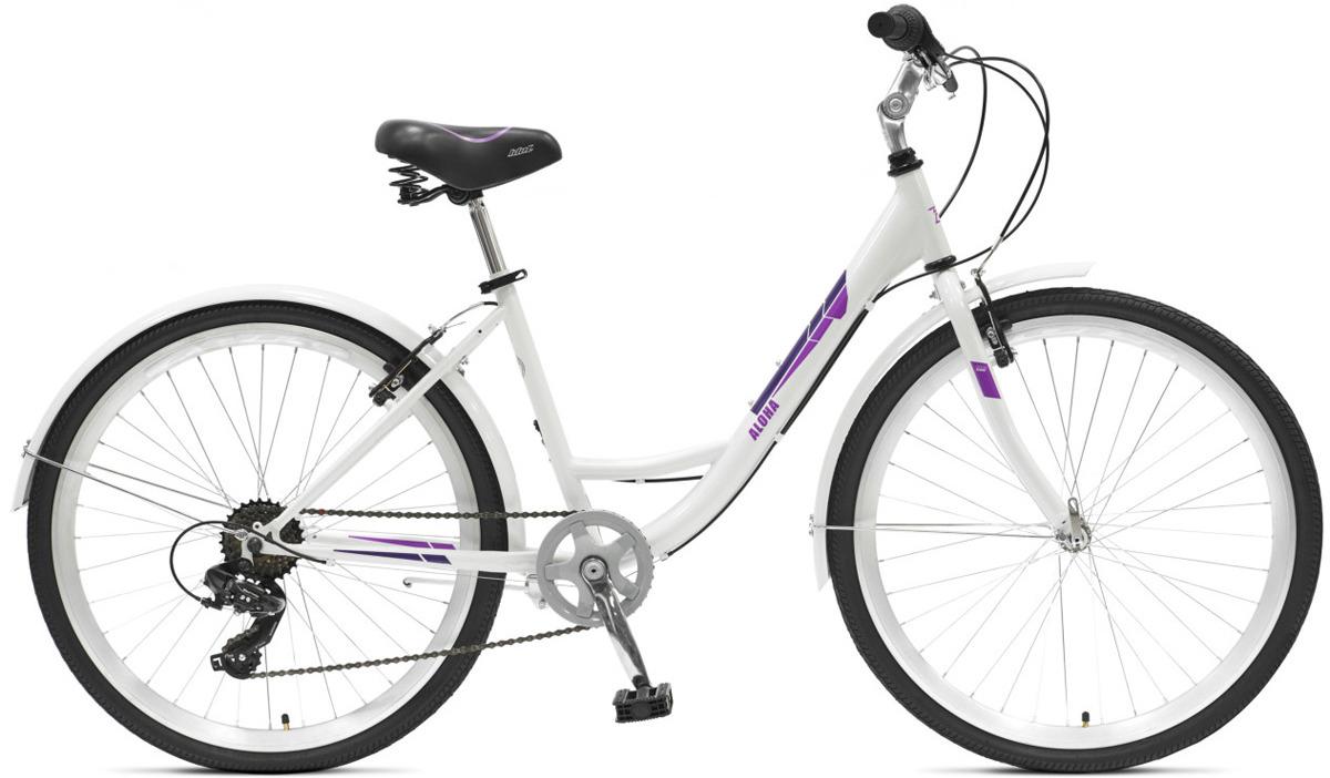 Велосипед городской Idol Aloha Comfort, 7 скоростей, колеса 26, белый