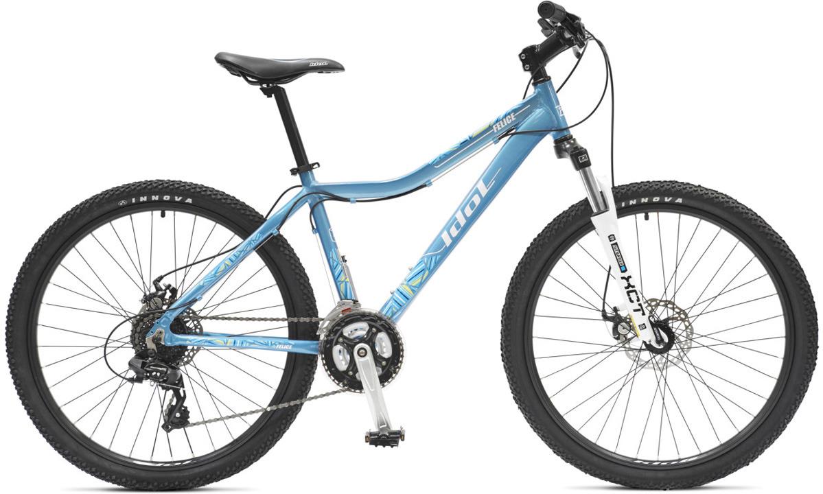 Велосипед горный Idol Felice, 21 скорость, колеса 26, голубой