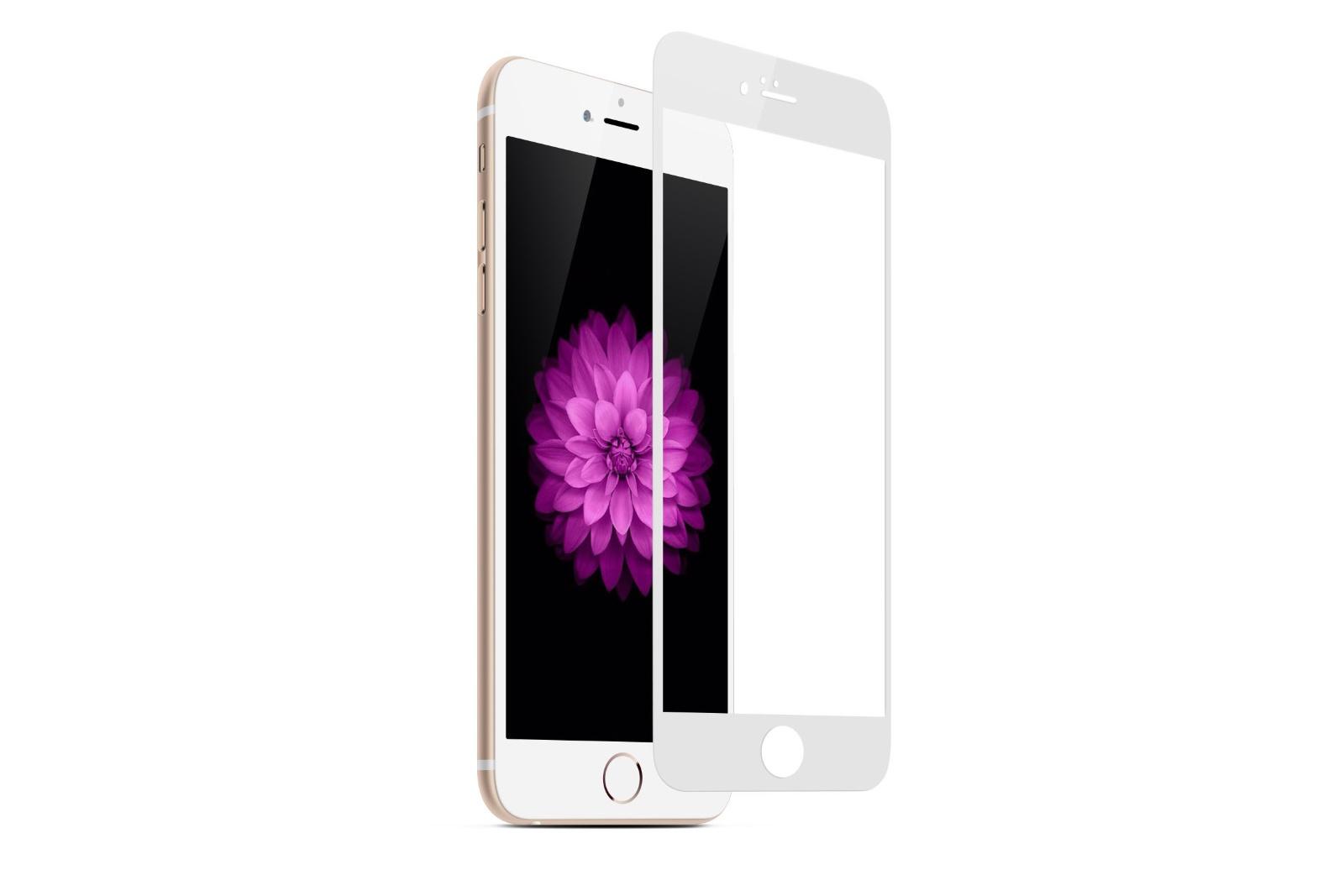 Защитное стекло Gurdini Full 6D 0.26mm 903632 для Apple iPhone 6 Plus/6S Plus, белый