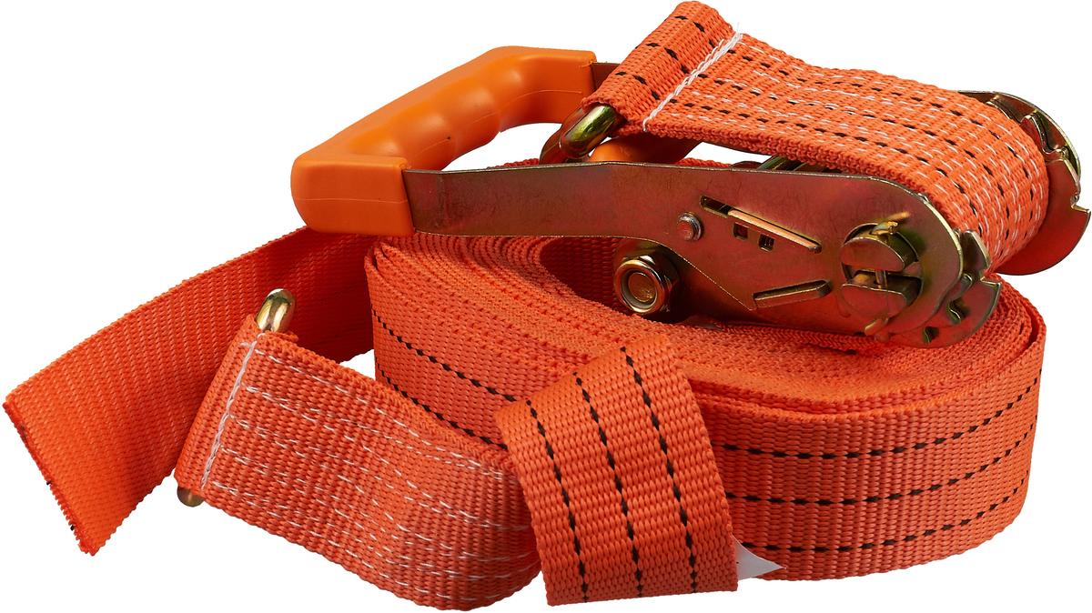 Ремень крепления груза Топ Авто, РК45012, оранжевый ремень крепления груза топ авто ширина ленты 50 мм 2500 5000 кг 10 м механизм 230 мм