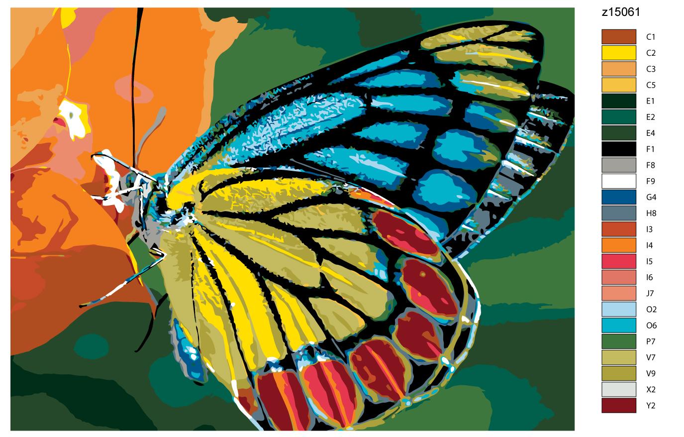 Картина по номерам Живопись по номерам Z-z15061Z-z15061Количество красок от 18 до 24. Картина раскрашивается без смешивания красок. Высококачественные акриловые краски собственного производства сделают вашу картину яркой и уникальной. Все необходимые материалы есть в комплекте: натуральный хлопковый холст, натянутый на деревянный подрамник, баночки с акриловыми красками на водной основе, 3 кисти из качественного нейлона, схема раскрашивания, инструкция. Просто закрашивайте участки красками с соответствующим номером.
