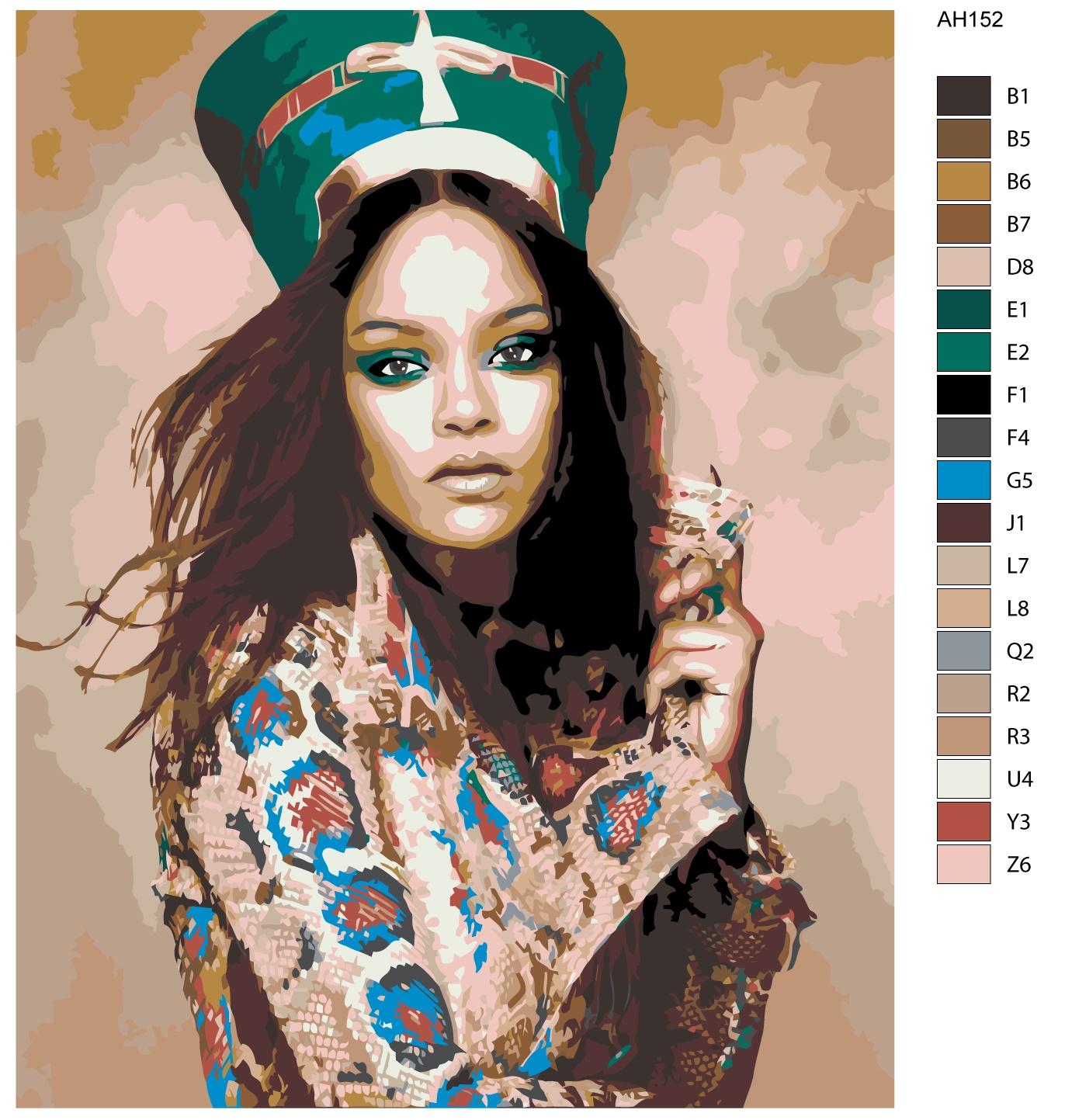 Набор для создания картины Живопись по номерам ARTH-AH152ARTH-AH152Количество красок от 18 до 24. Картина раскрашивается без смешивания красок. Высококачественные акриловые краски собственного производства сделают вашу картину яркой и уникальной. Все необходимые материалы есть в комплекте: натуральный хлопковый холст, натянутый на деревянный подрамник, баночки с акриловыми красками на водной основе, 3 кисти из качественного нейлона, схема раскрашивания, инструкция. Просто закрашивайте участки красками с соответствующим номером.