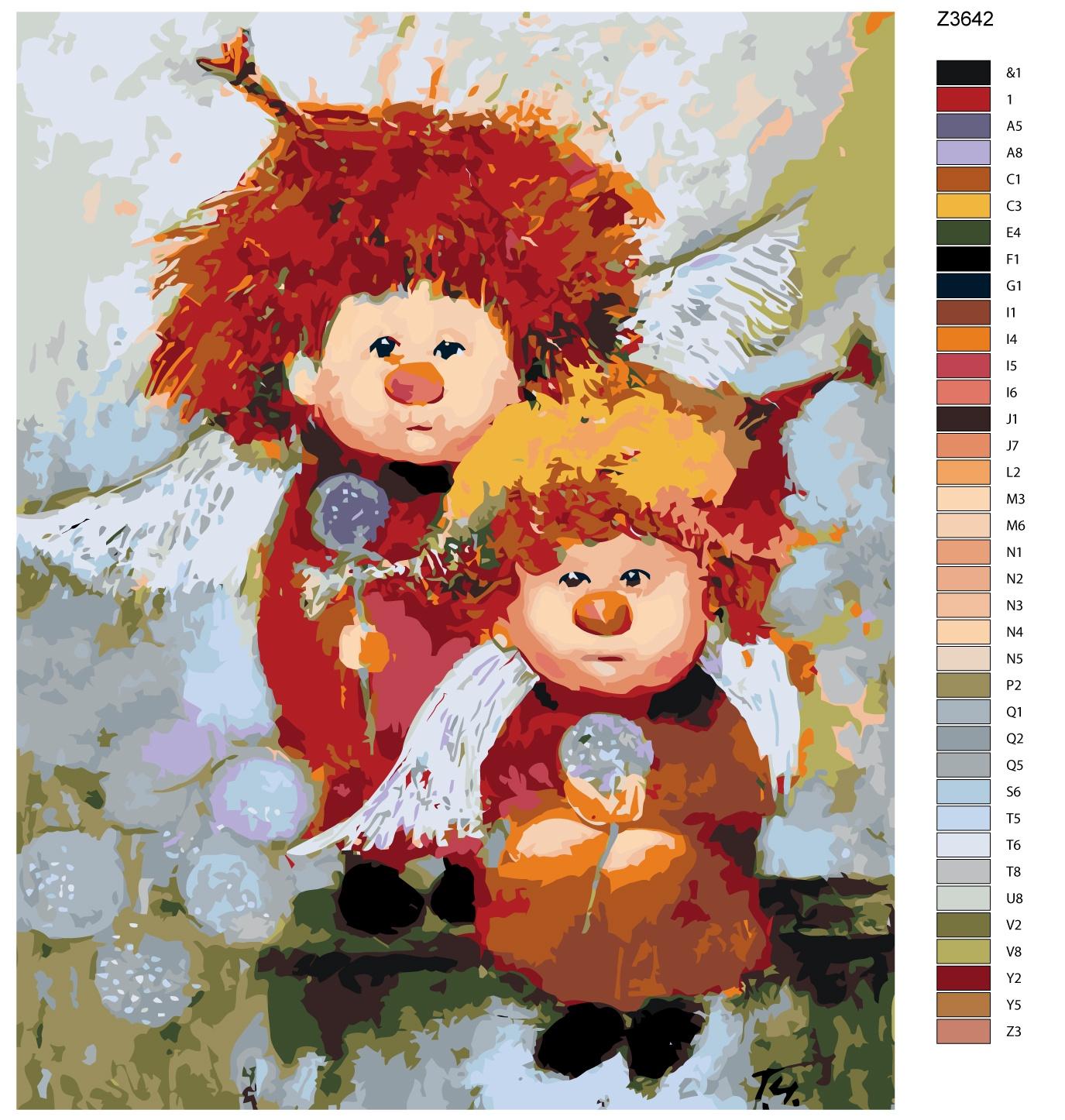 Картина по номерам Живопись по номерам Z-Z3642Z-Z3642Количество красок от 18 до 24. Картина раскрашивается без смешивания красок. Высококачественные акриловые краски собственного производства сделают вашу картину яркой и уникальной. Все необходимые материалы есть в комплекте: натуральный хлопковый холст, натянутый на деревянный подрамник, баночки с акриловыми красками на водной основе, 3 кисти из качественного нейлона, схема раскрашивания, инструкция. Просто закрашивайте участки красками с соответствующим номером.