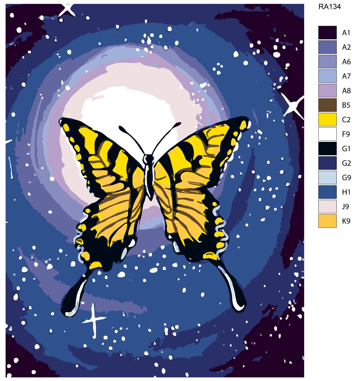 Набор для создания картины Живопись по номерам RA134RA134Количество красок от 18 до 24. Картина раскрашивается без смешивания красок. Высококачественные акриловые краски собственного производства сделают вашу картину яркой и уникальной. Все необходимые материалы есть в комплекте: натуральный хлопковый холст, натянутый на деревянный подрамник, баночки с акриловыми красками на водной основе, 3 кисти из качественного нейлона, схема раскрашивания, инструкция. Просто закрашивайте участки красками с соответствующим номером.