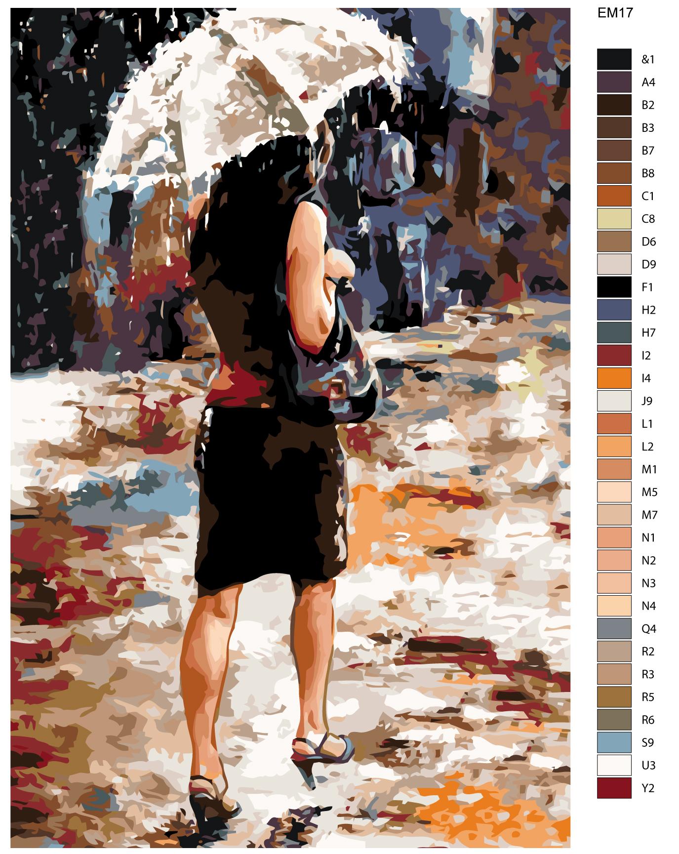 Набор для создания картины Живопись по номерам EM17EM17Количество красок от 18 до 24. Картина раскрашивается без смешивания красок. Высококачественные акриловые краски собственного производства сделают вашу картину яркой и уникальной. Все необходимые материалы есть в комплекте: натуральный хлопковый холст, натянутый на деревянный подрамник, баночки с акриловыми красками на водной основе, 3 кисти из качественного нейлона, схема раскрашивания, инструкция. Просто закрашивайте участки красками с соответствующим номером.