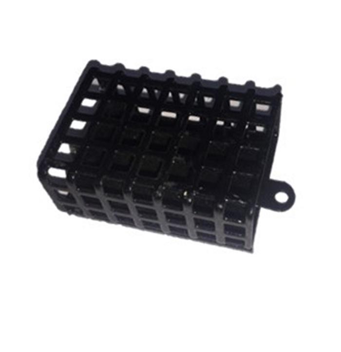 Кормушка для рыбы AGP Кормушка металлическая, черный кормушка пирс оснащенная донная 4 22 35гр несимм петля фидерная
