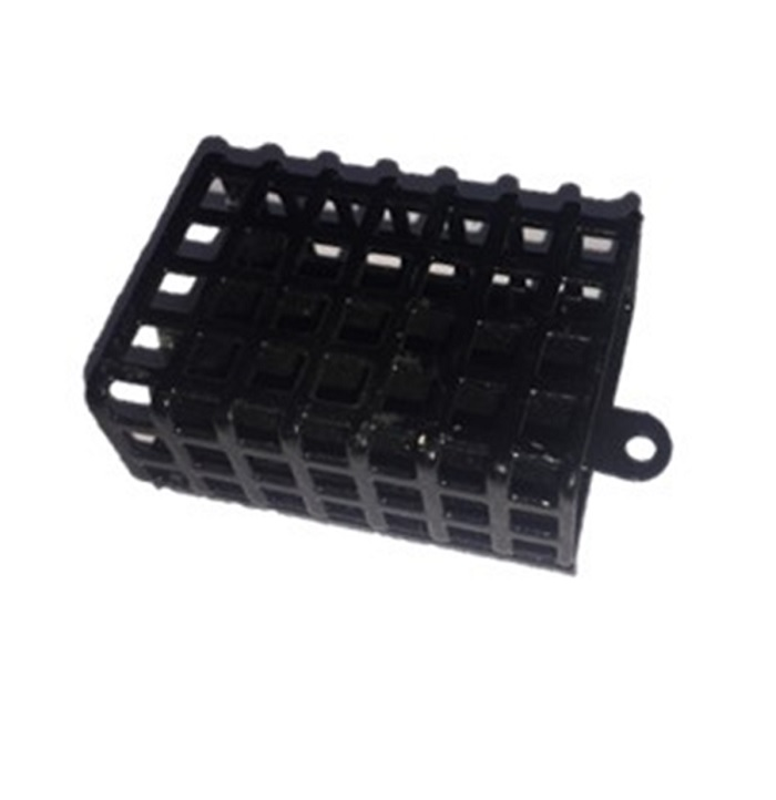 Кормушка для рыбы AGP Кормушка металлическая, черный коробка для приманки alaska кормушка прикормочная спомб