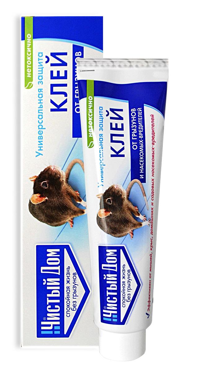 Клей от грызунов и насекомых Чистый Дом, 03-425, 130 г клей от крыс отзывы