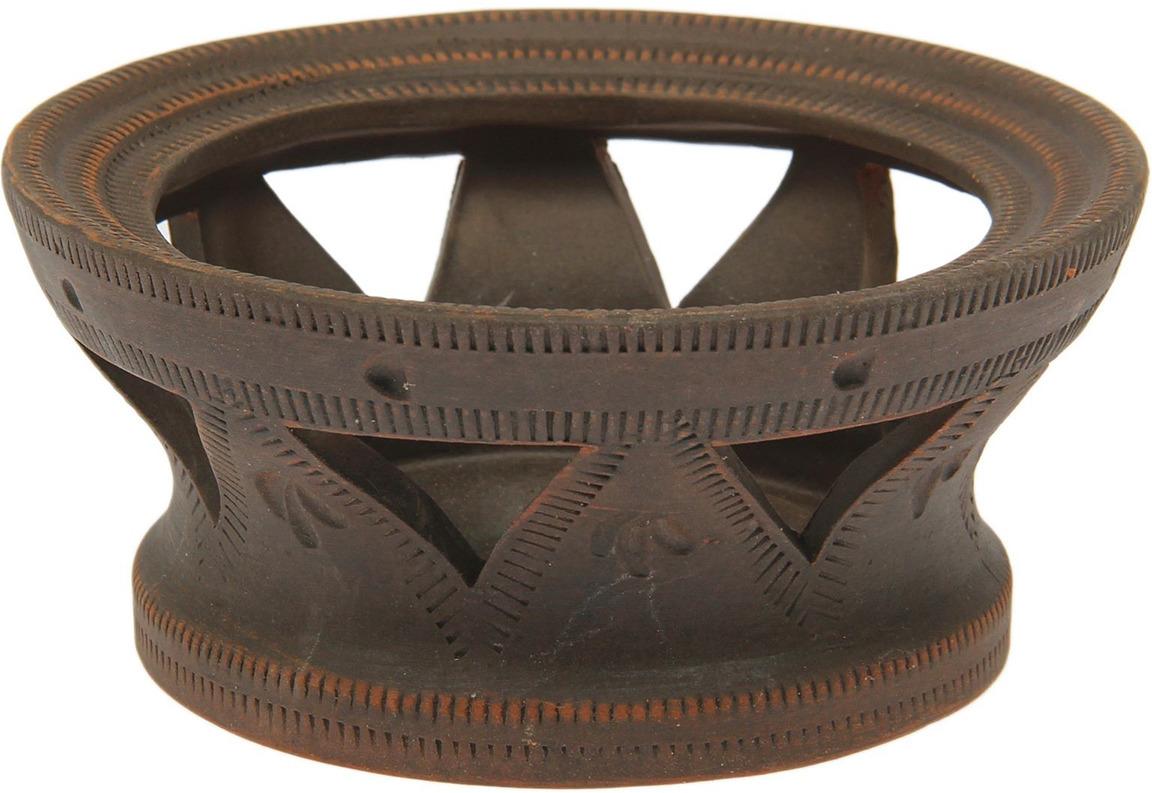 Камин для турки Красная глина, 1454659, коричнево-красный