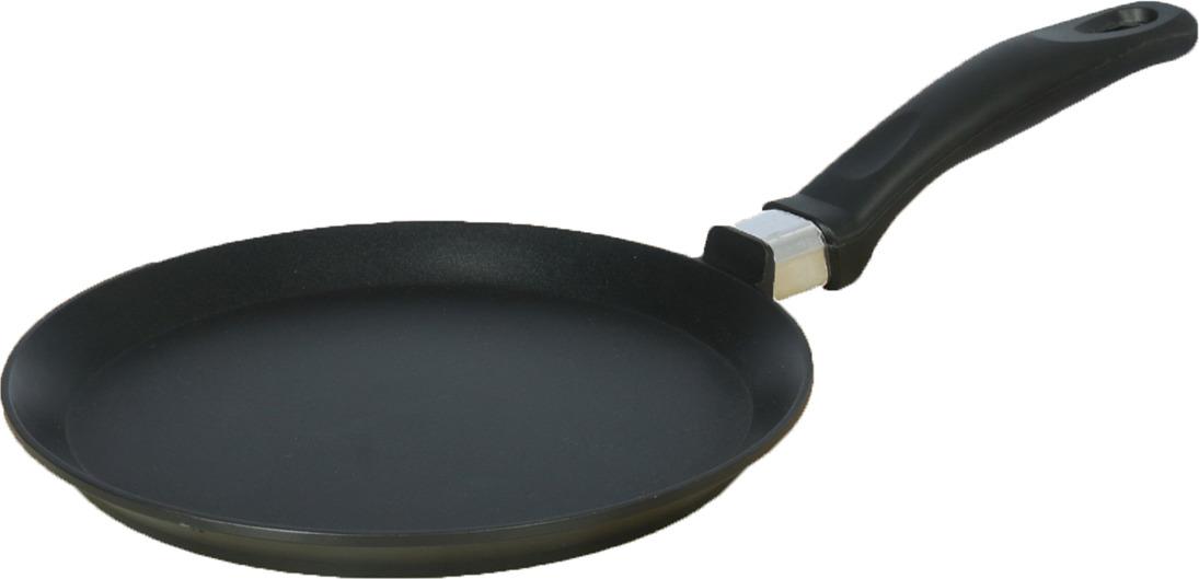 Сковорода для блинов CAStA Лайт Классик, 3527965, черный. Диаметр см3527965Сковорода принесёт на кухне неоценимую пользу. Предмет изготовлен из качественного алюминия методом штамповки. Готовить вкусно и разнообразно теперь не составит труда.