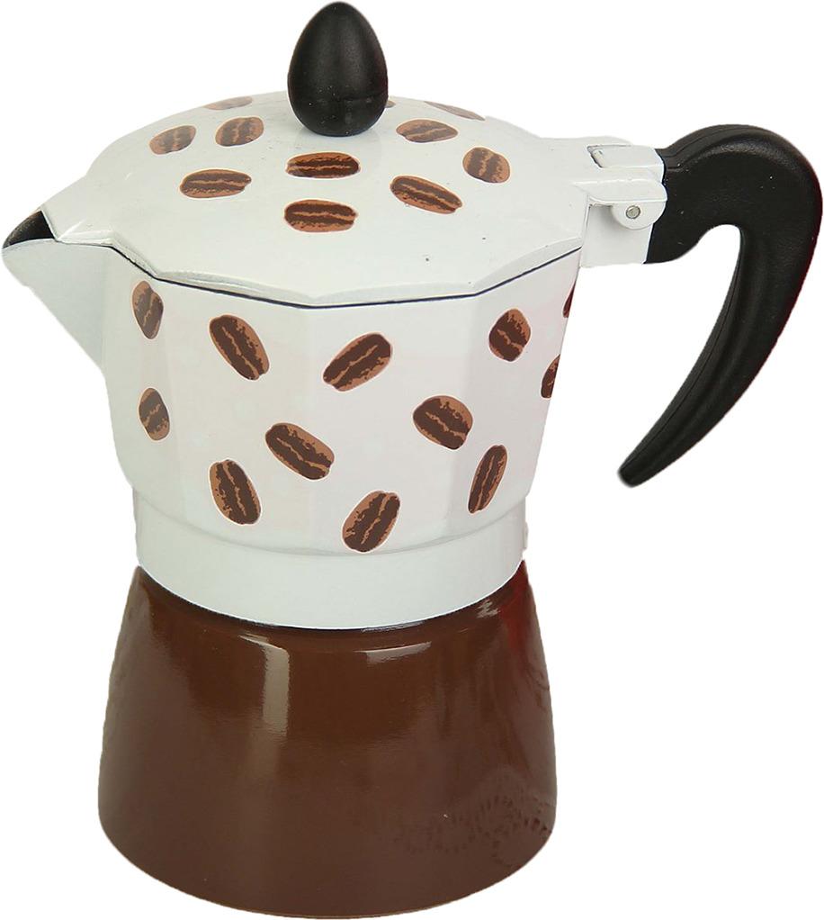 Кофеварка Арабика, гейзерная, на 3 чашки, 22908602290860Устройство позволит радовать себя и близких вкусным кофе каждый день. Действие прибора основано на давлении пара: благодаря этому оно не требует электричества. Вы сможете приготовить напиток на обычной газовой плите.