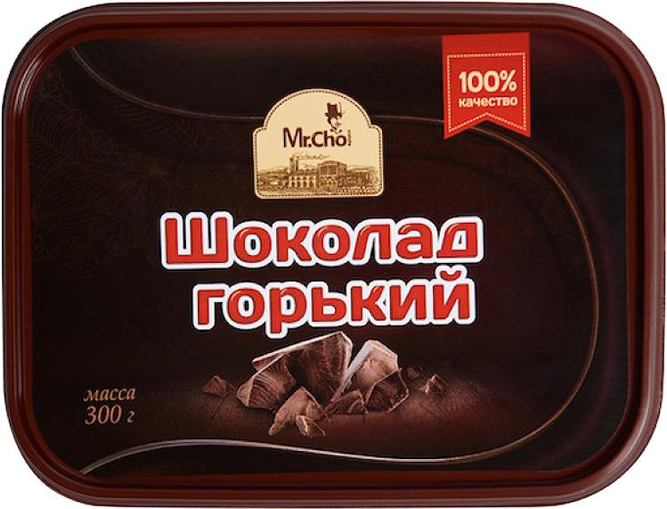 Шоколад Mr.Cho Горький шоколад, 300 г цена