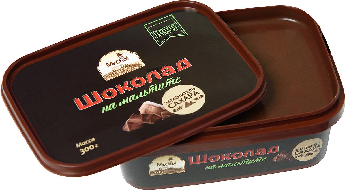 Шоколад Mr.Cho Шоколад на Мальтите, 300 г