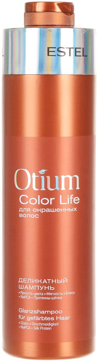 Estel Крем-шампунь для окрашенных волос Otium Blossom, деликатный, 1000 мл цена