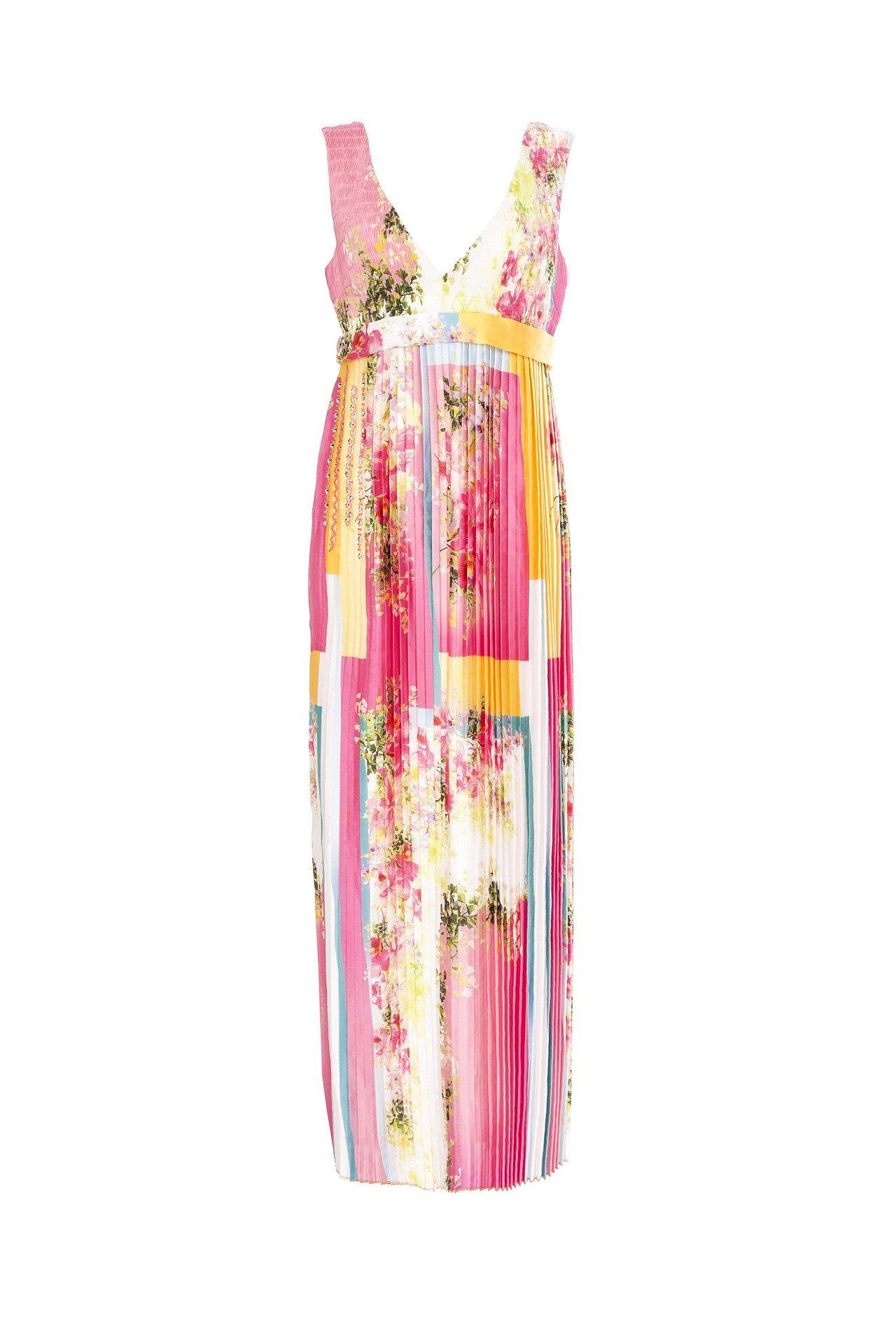 цена Платье VDP VIA DELLE PERLE онлайн в 2017 году