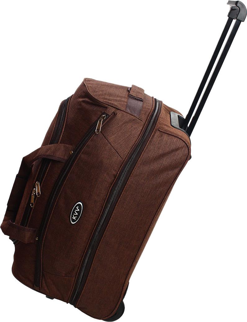 Сумка-тележка Ibag, коричневый, 22211, 58 л22211Отличная вместительная колесная сумка с диаметром колес 9см.и выдвижной ручкой на 37 см., без кнопки. Имеет дополнительный объём за счет одного расклада встроенной молнии. Мягкие ручки для переноски вертикально и горизонтально отделаны ремнем, регулируемый плечевой ремень с наплечником длинна которого 1,15м. Сшита наша сумка из материала ПВХ-меланж и имеет подклад, все замки и молнии тип 10