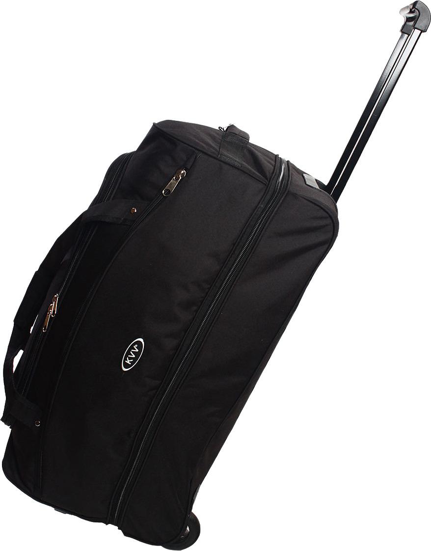 Сумка-тележка Ibag, черный, 2826, 80 л сумка тележка хозяйств на колесах с выдвижной ручкой раз сумки33х23х55 см клетка ассорти 4 цв