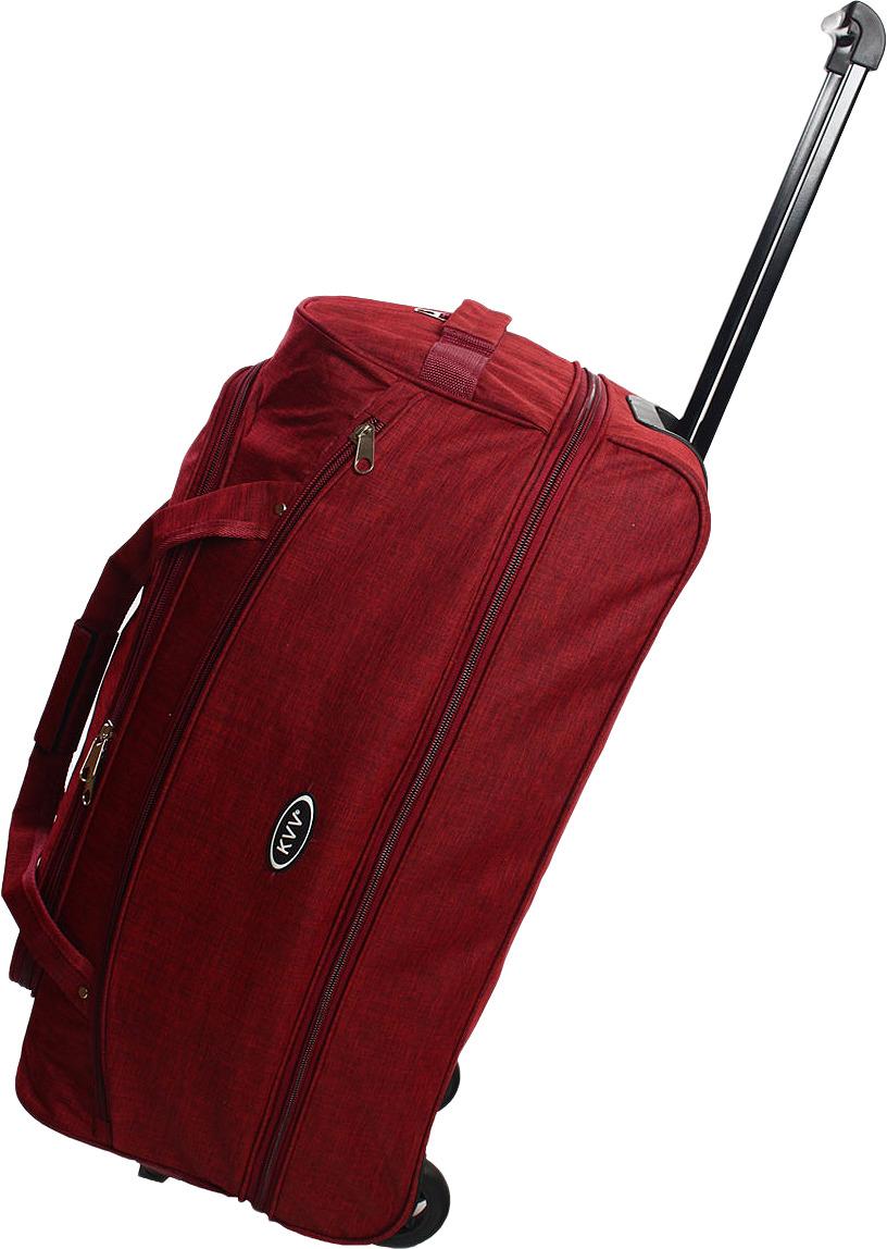 Сумка-тележка Ibag, бордовый, 2826, 80 л сумка тележка хозяйств на колесах с выдвижной ручкой раз сумки33х23х55 см клетка ассорти 4 цв