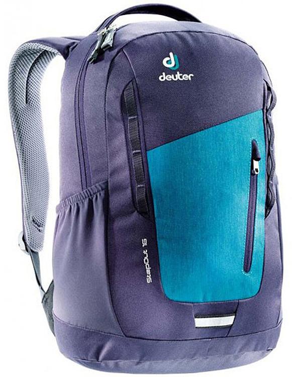 Рюкзак Deuter Stepout 16, фиолетовый, синий, 16 л городской рюкзак deuter futura 20 sl 20 л фиолетовый розовый 34194 3503