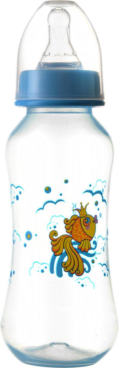 Бутылочка для кормления Курносики Моя ферма, с соской, 11057, 250 мл столовые приборы для малышей курносики ложечка курносики