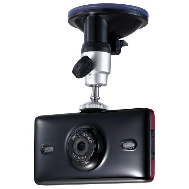 Видеорегистратор AUTOLUXE CRD-09 720P HD 1280*720 LCD дисплей 2, GPS слежение, черный цена