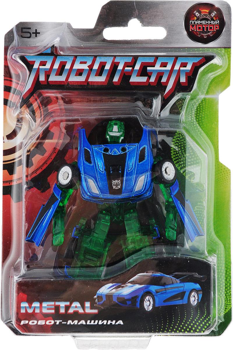 Трансформер Пламенный мотор Робот-машина Космобот, синий, зеленый трансформеры shantou gepai робот трансформер пламенный мотор машина космобот в асс