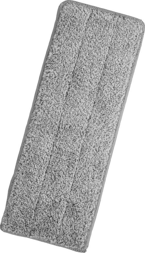 Насадка не швабру Miley Magic flat mop refill, 100-127, серый насадка на швабру leifheit clean twist mop из микроволокна цвет белый бирюзовый