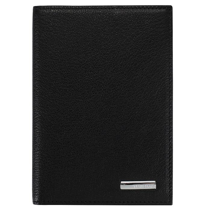 Обложка для паспорта Neri Karra 0040.05.01, черный neri karra 0350b 03 49