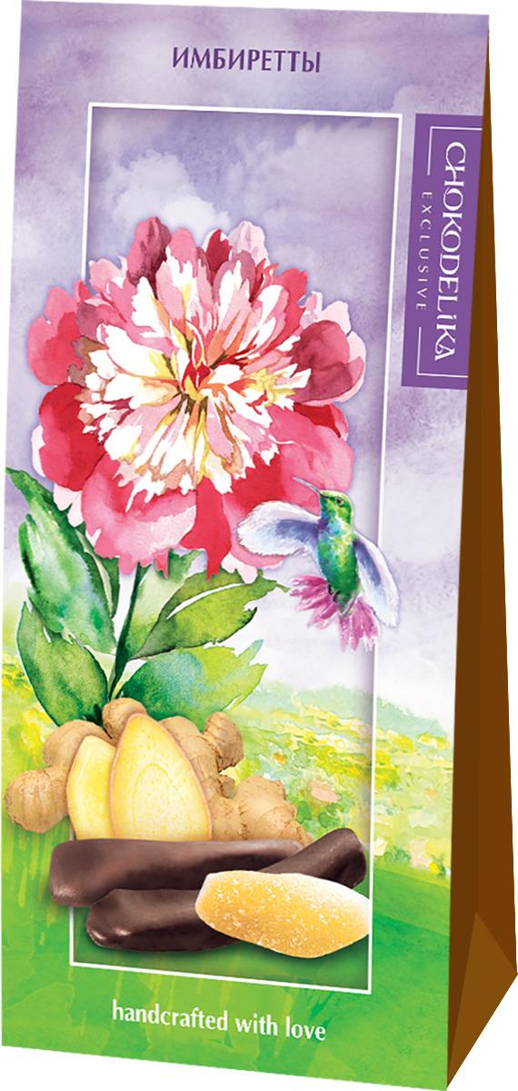 Конфеты Chokodelika Имбиретты, подарочная коробка, 100 г конфеты chokodelika лимонетты подарочная коробка 100 г