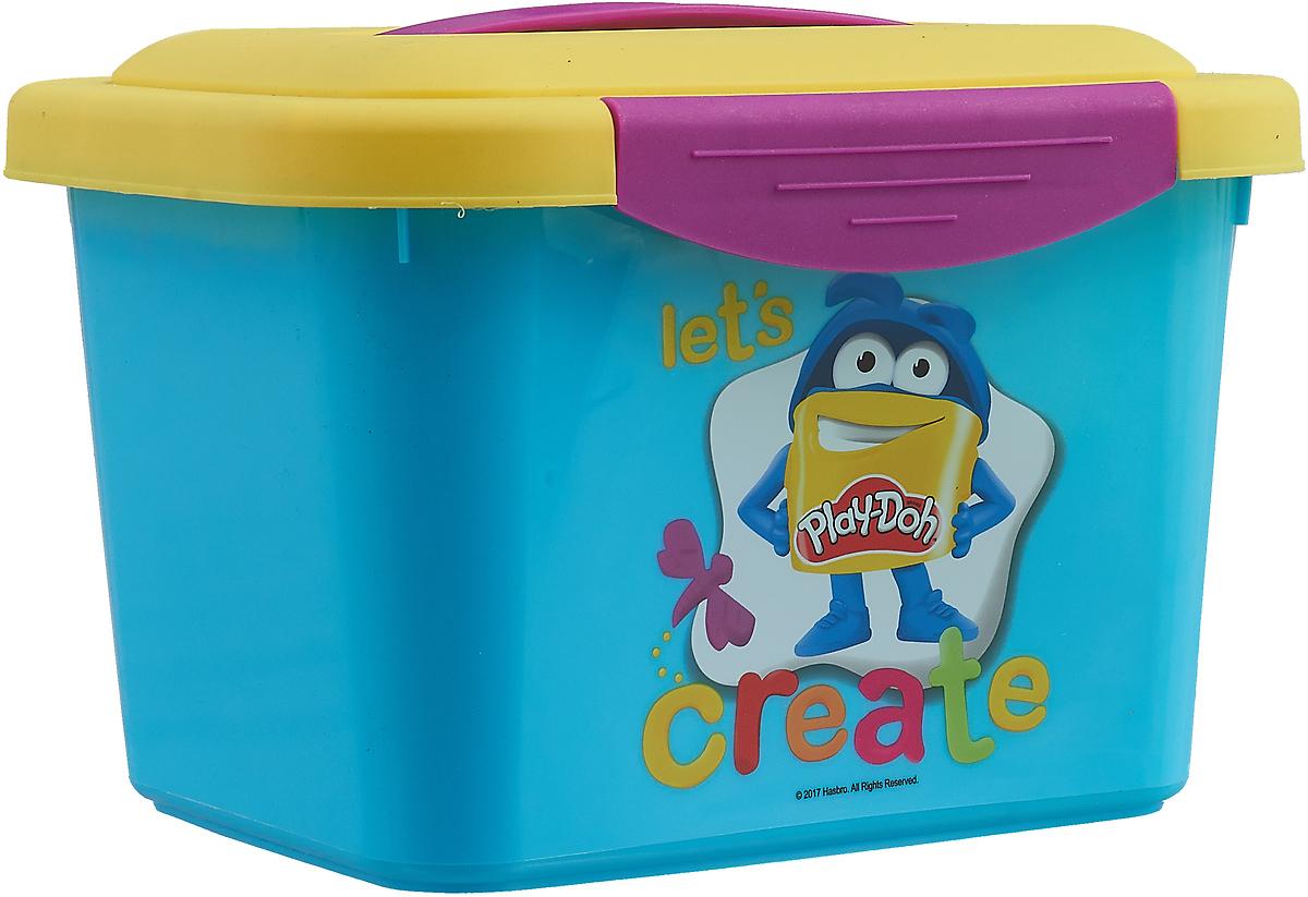 """Набор для рисования Play-Doh """"Маленькая мастерская"""", голубой, жёлтый"""