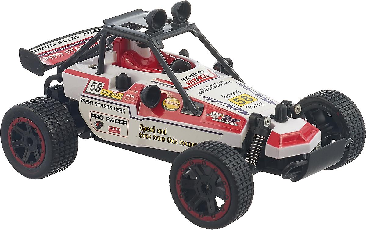 Машинка радиоуправляемая OCIE, OTC0873820, красныйOTC0873820Радиоуправляемая гоночная машинка OCIEобладает стильным дизайном, ярким красно-белым цветом.Игрушка управляется с помощью пульта и способна развивать хорошую скорость. Корпус игрушки выполнен из специального прочного пластика, который не боится столкновений и ударов. Автомобиль может переворачиваться на скорости и спокойно продолжать гонку.В комплект входит: машинка, пульт управления, блок питания c USB разъёмом, 4 пальчиковые батарейки.