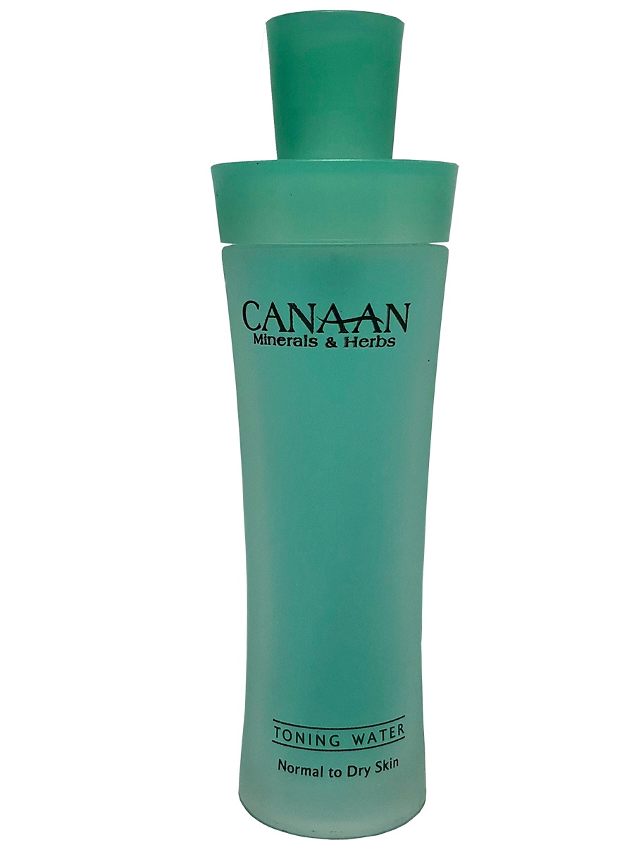 Тоник на водной основе с минералами Мертвого моря и зверобоем для нормальной и сухой кожи, 125 мл, Canaan