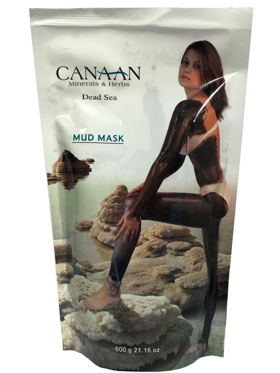 Омолаживающая грязевая маска для тела с минералами Мертвого моря, 600 мл, Canaan