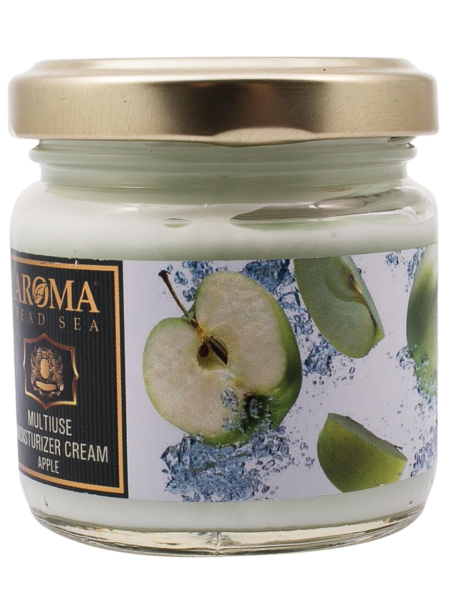 Универсальный Омолаживающий крем для тела Яблоко с эфирными маслами и фруктовыми экстрактами,100мл, Aroma Dead Sea недорго, оригинальная цена