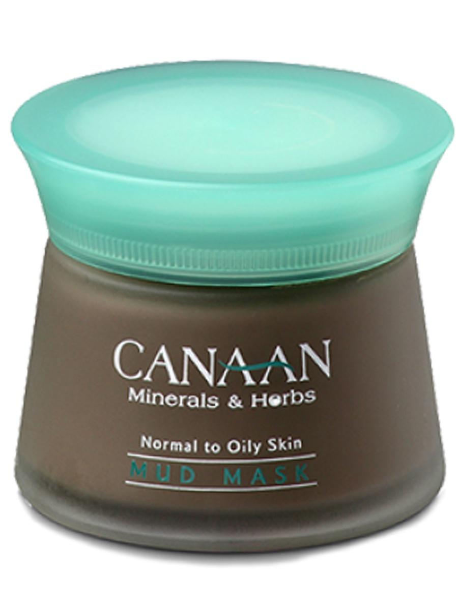 Омолаживающая грязевая маска для лица с минералами Мертвого моря и экстрактом водорослей, 50 мл, Canaan