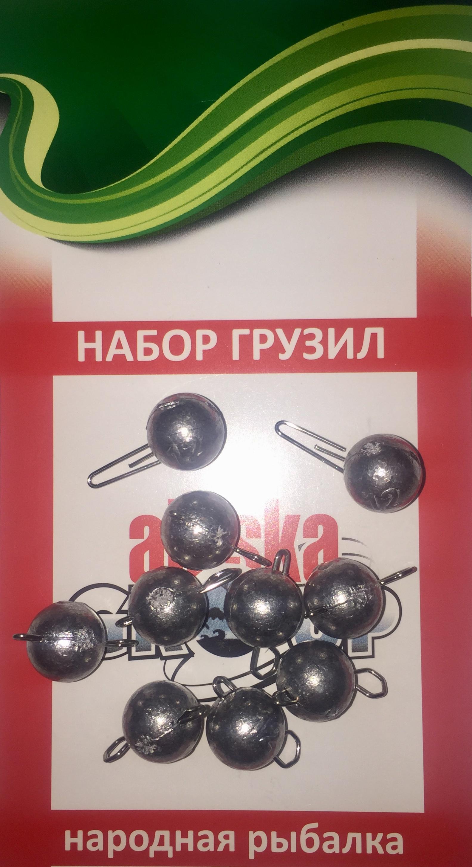 Грузило AGP чебурашка, серый металлик, серебристый
