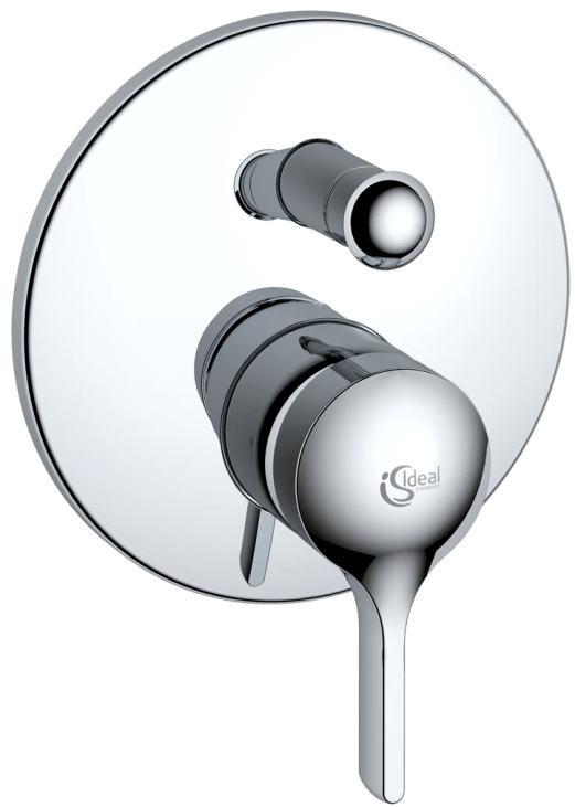 Смеситель Ideal Standard Смеситель для ванны, серебристый