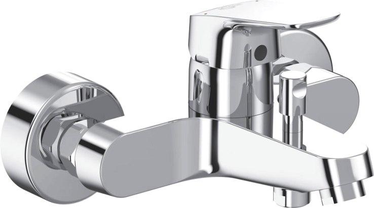 Смеситель Ideal Standard Смеситель для ванны с душем, серебристый