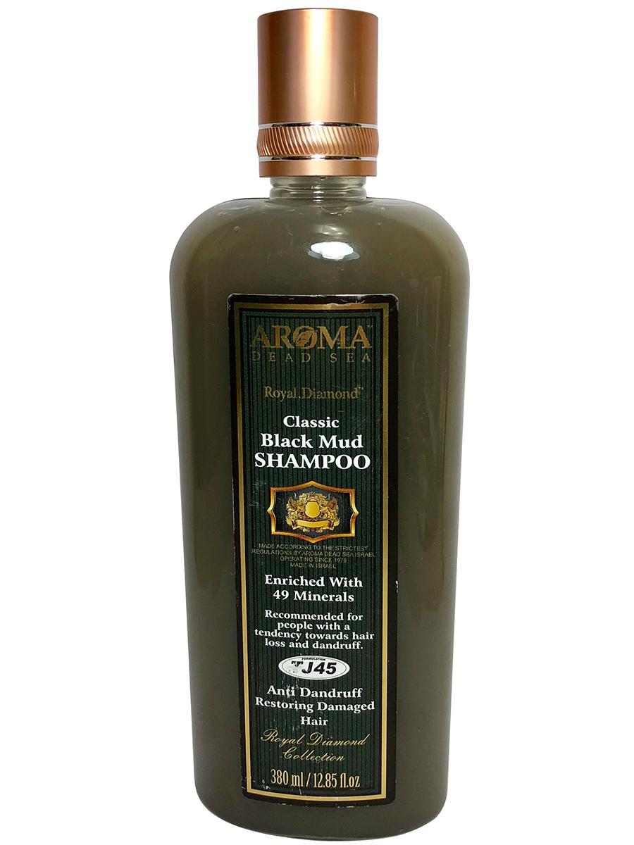 Шампунь для волос Aroma Dead Sea Лечебно-грязевой шампунь от перхоти и выпадения волос,380мл