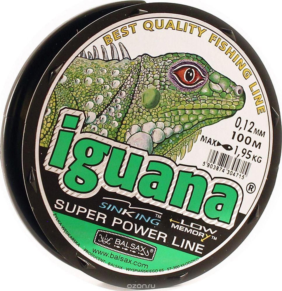 Леска для рыбалки Balsax Iguana, светло-зеленый трусы doness 134 140 dns 10 1006 светло зеленый светло зеленый 134 140 32 размер