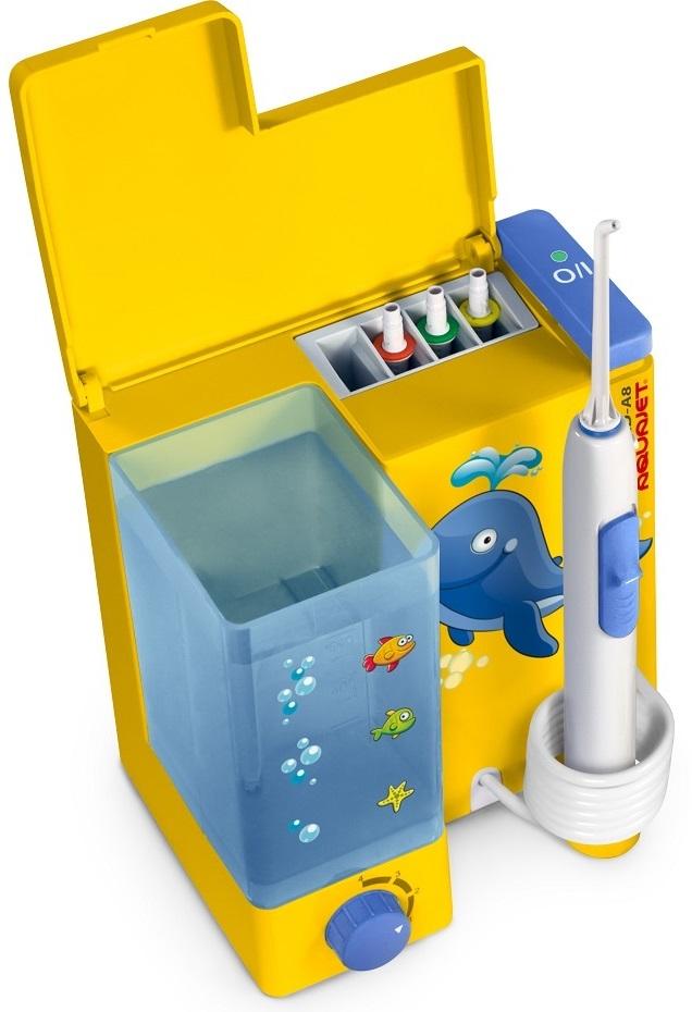 Ирригатор Aquajet LD-A8, желтый Little Doctor
